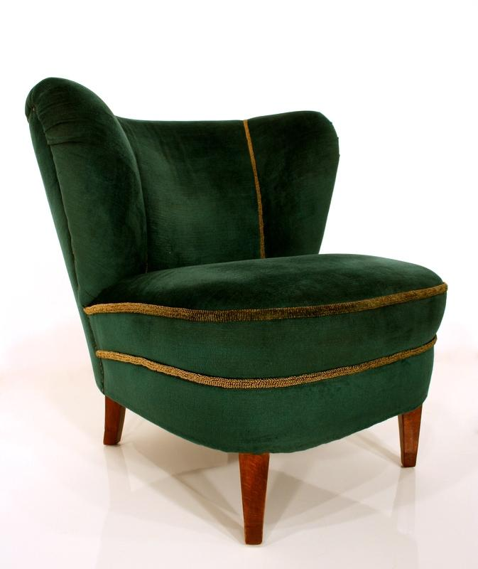 2 fantastic art deco cocktail armchair velvet armchair. Black Bedroom Furniture Sets. Home Design Ideas