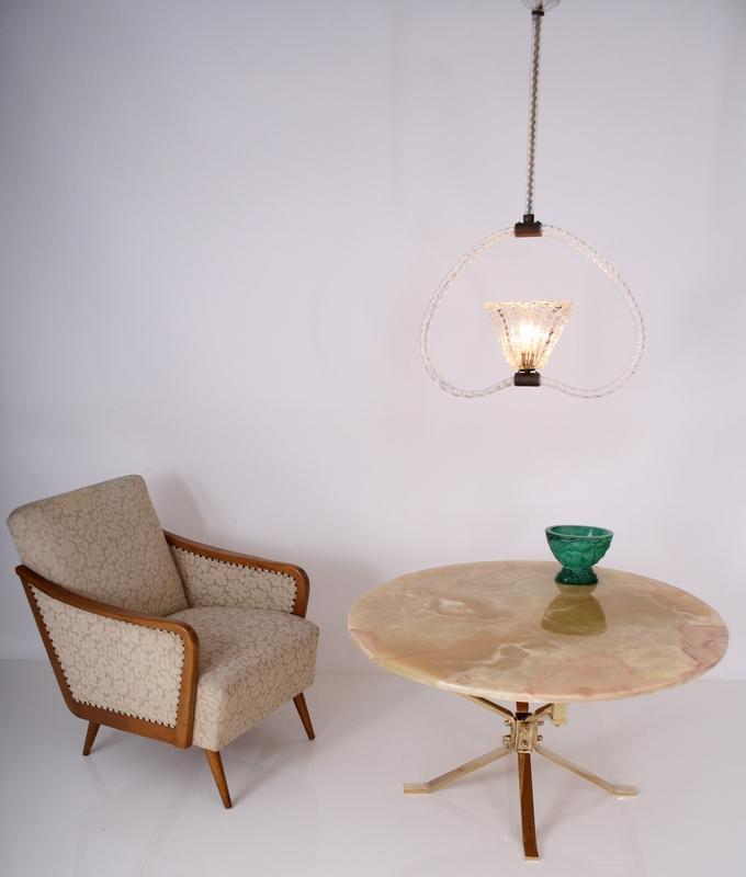 barovier toso ceiling lamp italy circa 50s lustre luster lampe deckenlampe ebay. Black Bedroom Furniture Sets. Home Design Ideas