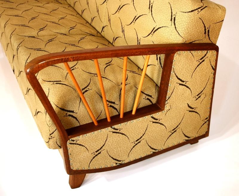 Sofa bed transf daybed couch 50s 50er a 50 canap for Cama otomana